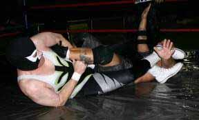 The Nighthawk vs. Bam Bam Mancuso in Extreme Pro Wrestling